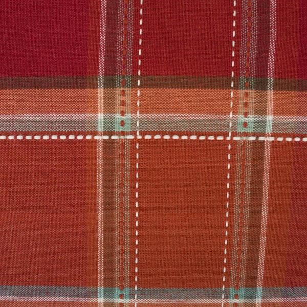 Autumn Spice Plaid Table Runner 14x72