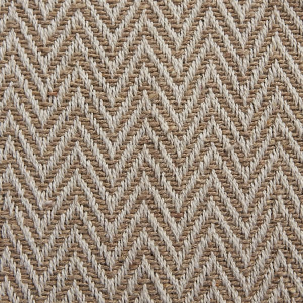 Stone Chevron Handloom Table Runner 15x72