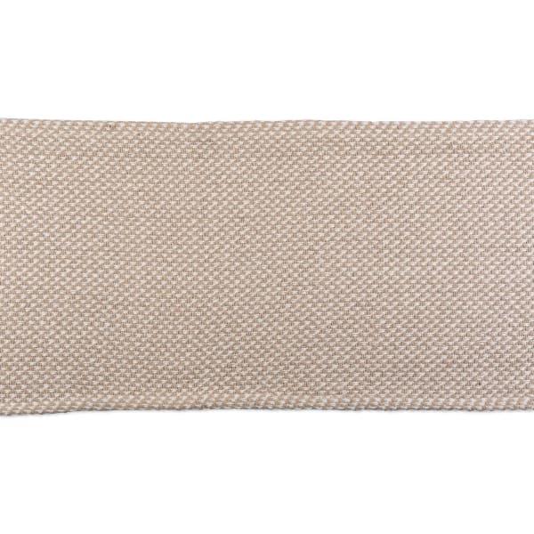 Stone Woven Table Runner 15x72