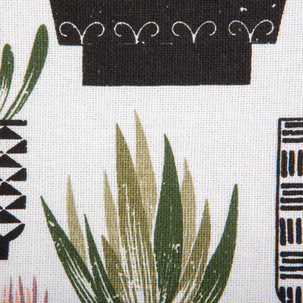 Urban Oasis Cactus Print Table Runner 14x72
