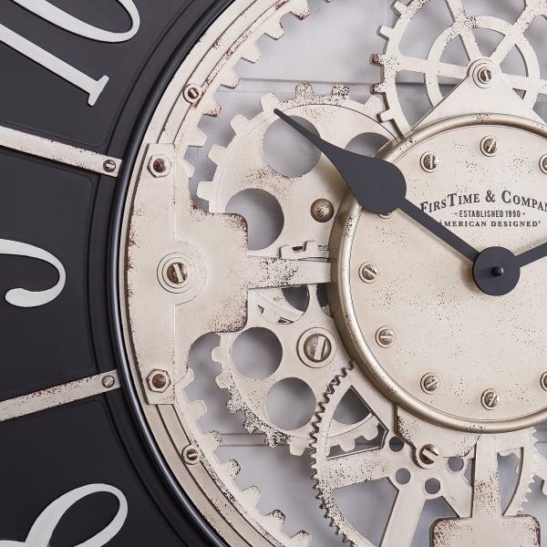 Bronze Montevello Farmhouse Gears Clock