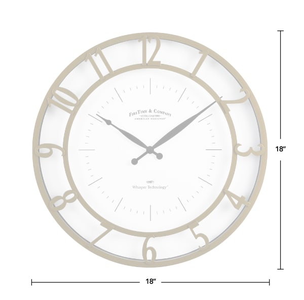 Gold Kensington Modern Clock