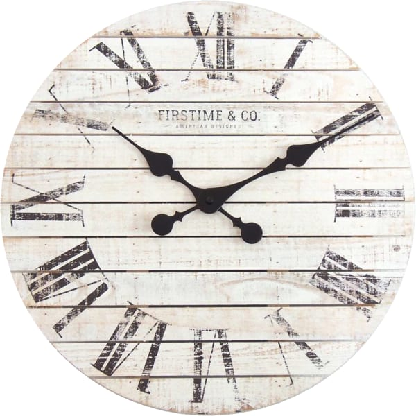 Shiplap Farmhouse Wall Clock Pier 1