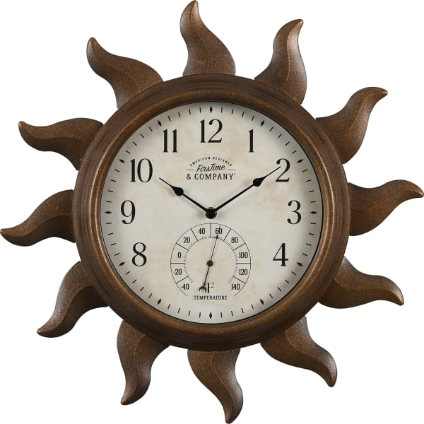 Sundeck Outdoor Clock