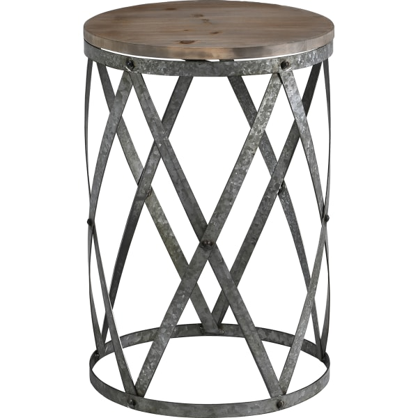 Farmhouse Cottage Galvanized Table