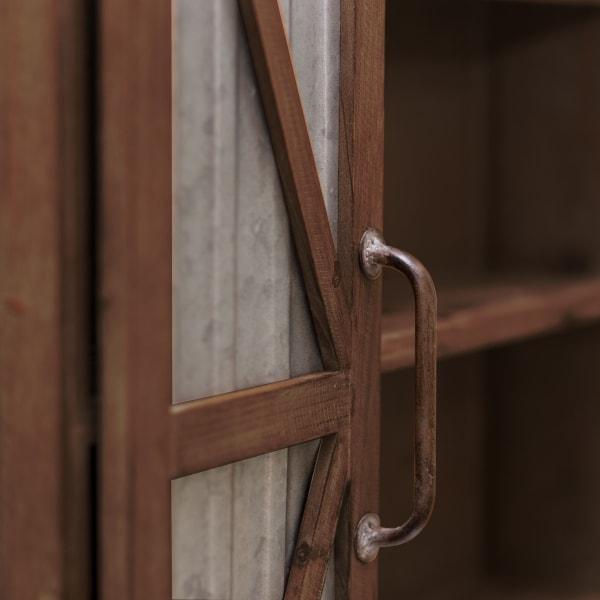 Farmhouse Barn Door Cabinet