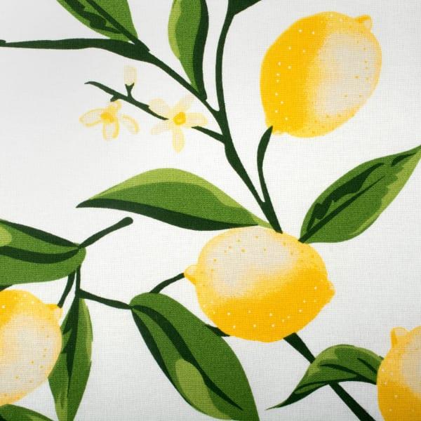 Lemon Bliss Print Tablecloth 70 Round
