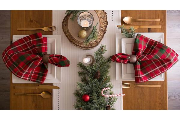 Santa's Workshop Table Runner 14x108