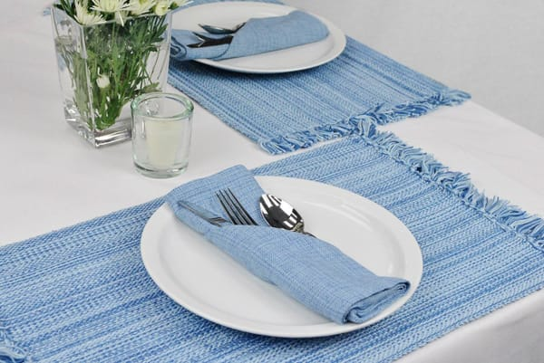 White Polyester Tablecloth 60x84
