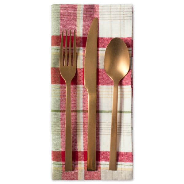 Orchard Plaid Table Set