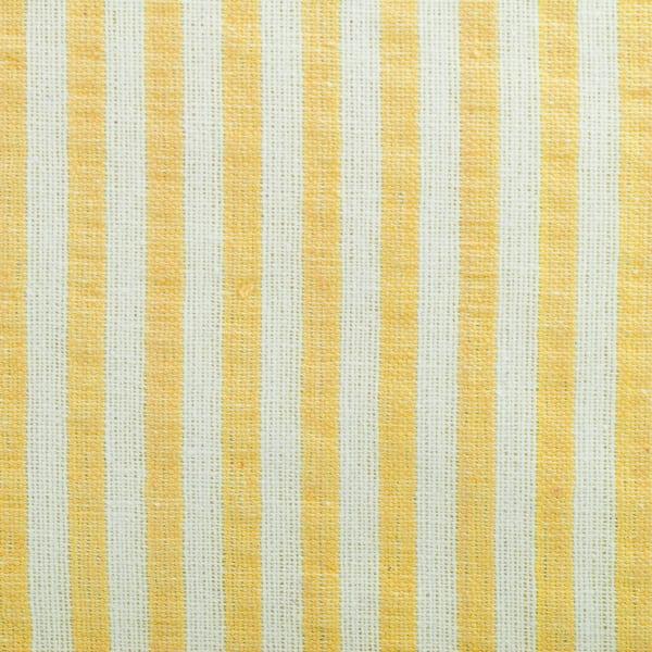 Yellow Seersucker Table Runner 14x72