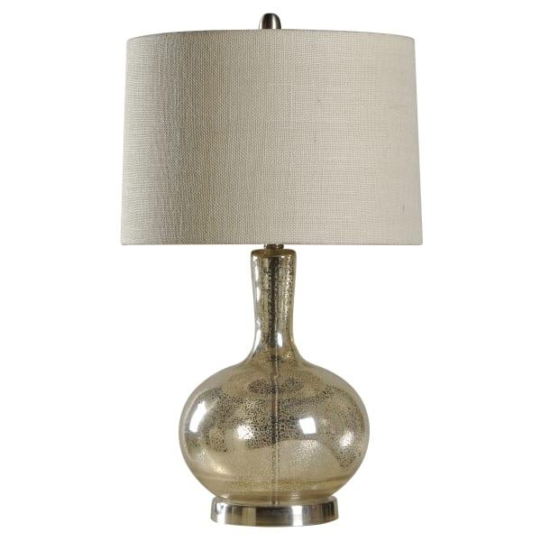 Alexander Mercury Silver Table Lamp