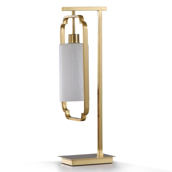 Satin Brass Metal Desk Lamp