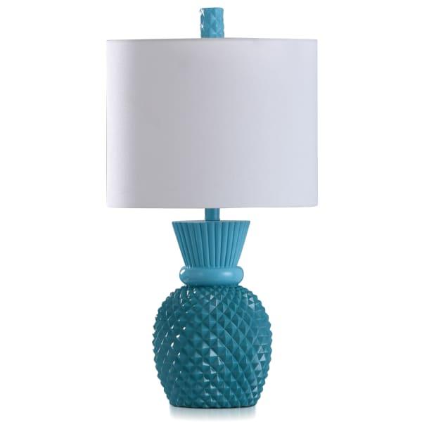 Nakita Kahiki Blue Table Lamp