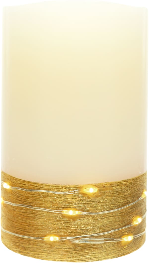 Always & Forever - Realistic Flame LED Lit Candle