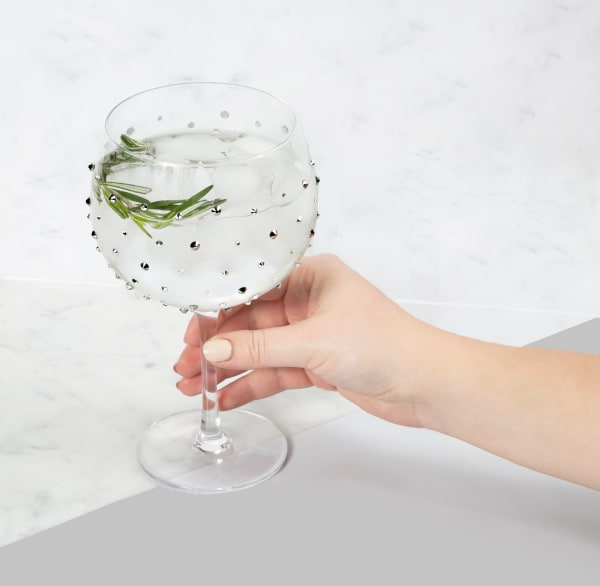 Black - Gemstone Glass