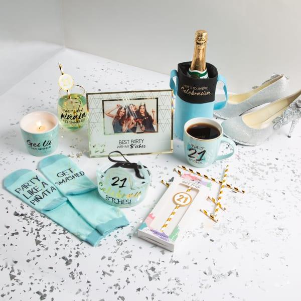 Celebration - Canvas Bottle Gift Bag