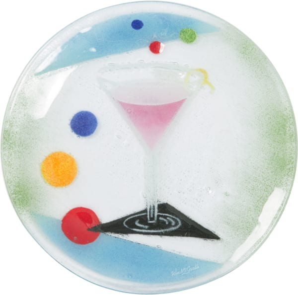 Cocktails - Cosmo Round Plate