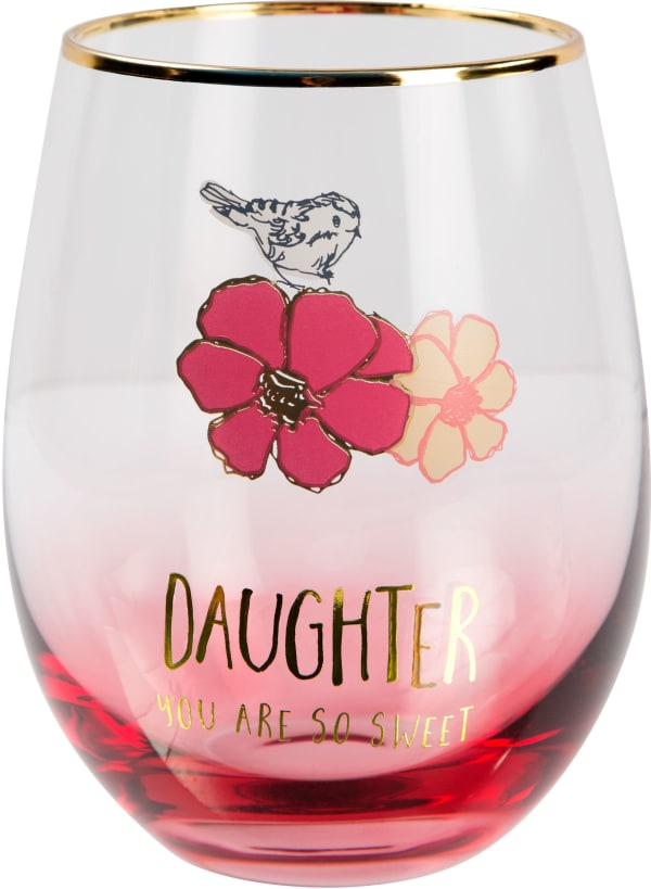 Daughter - Stemless Wine Glass