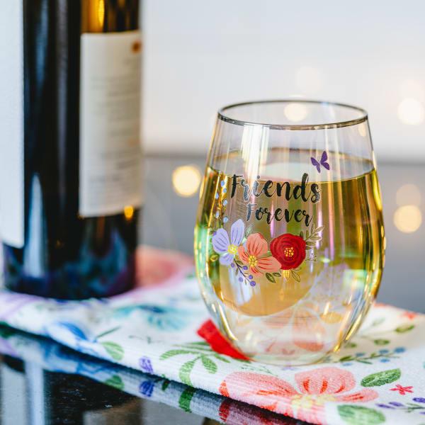 Friends - Stemless Wine Glass