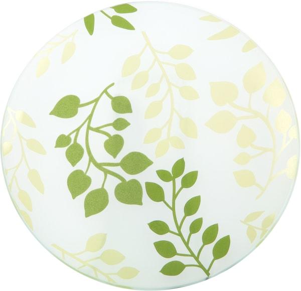 Green Fern - Candle Tray
