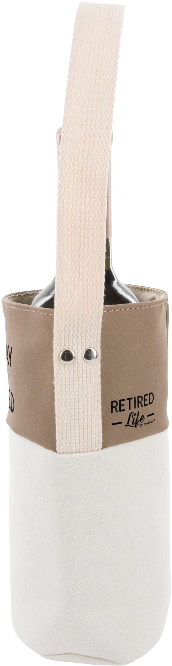 Sip Sip - Canvas Bottle Gift Bag