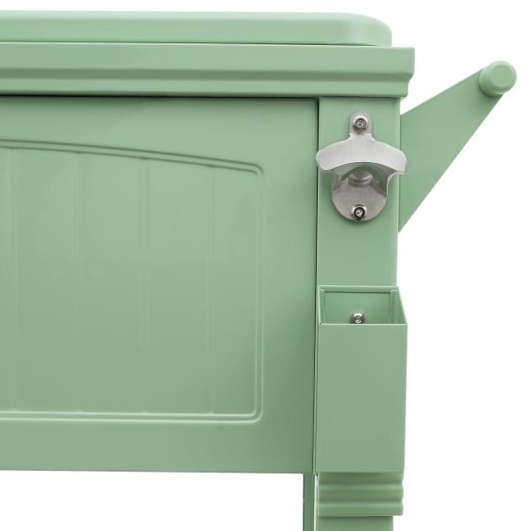 Sage Antique Furniture Style Rolling Cooler