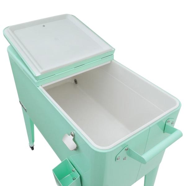 Mint Rolling Patio Cooler
