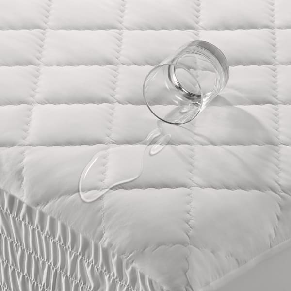 White King Waterproof Mattress Pad