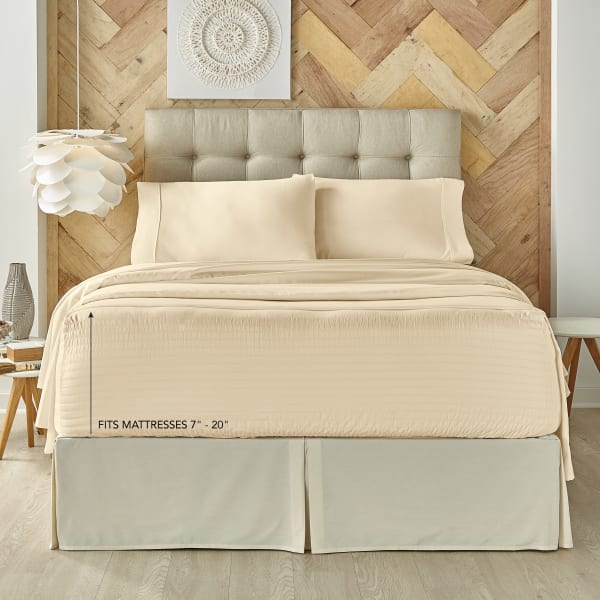 Ivory Full 4Pc. Sheet Set