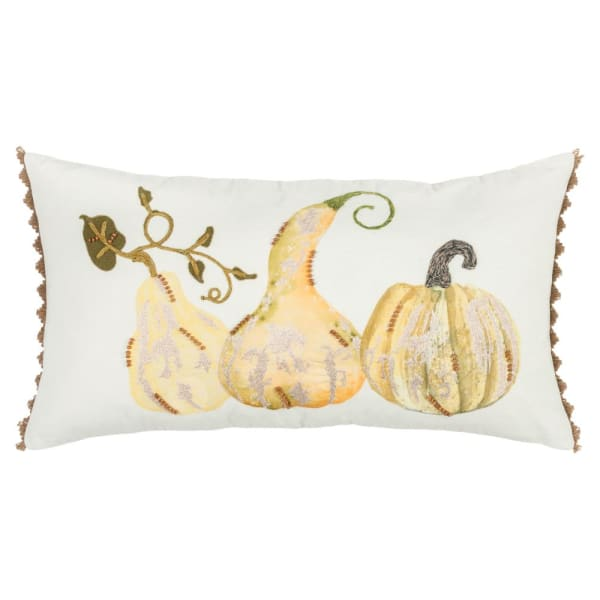 Gourds Multicolor Filled Pillow