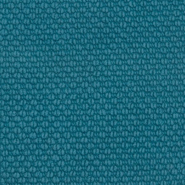 Solid Nubby Woven Dark Teal Filled Pillow
