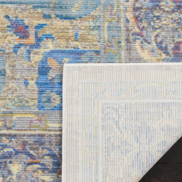 Blue Rug 3' x 5'