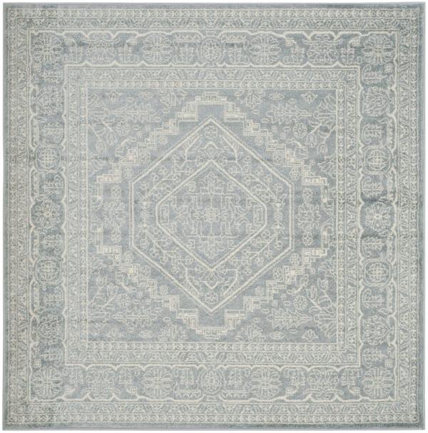 Square Gray Rug 8' x 8'