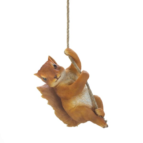 Hanging Squirrel Décor
