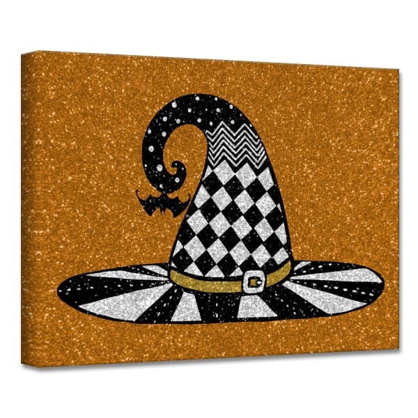 Chic & Bewitched V Copper Halloween Canvas Wall Art