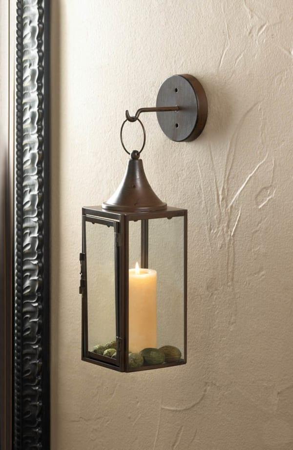 Gatehouse Hanging Candle Lantern