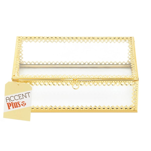 Gold Motif Jewelry Box