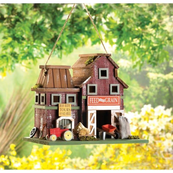 Rustic Farmstead Birdhouse