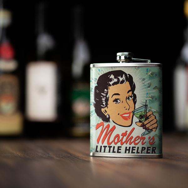 Mother's Little Helper Stainless Steel Liquor Flask