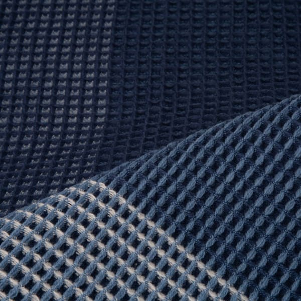 Indigo Acrylic Woven Throw