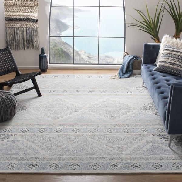 Essence Ivory Wool Rug 9' x 12'