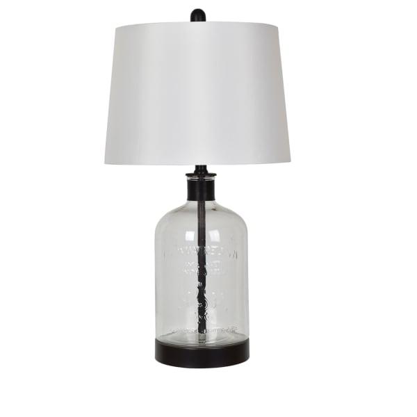Glass Demijohn Lamp