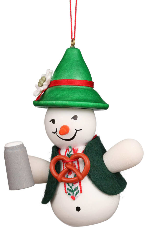 Christian Ulbricht Ornament - Snowman Beerdrinker