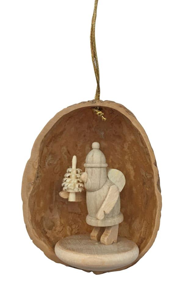Ornament - Nutshell with Santa