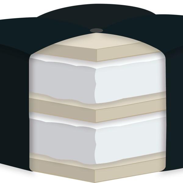 6 Double Certified Foam Youth Mattress Twin