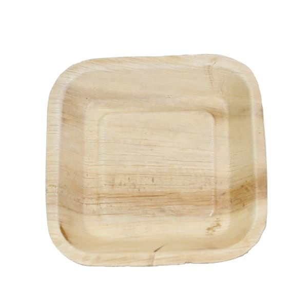 Indra Square Disposable Palm Leaf Plate 6