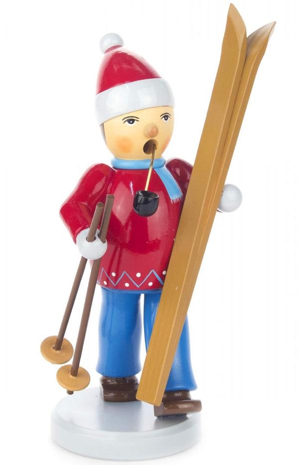 Dregeno Skier Incense Burner