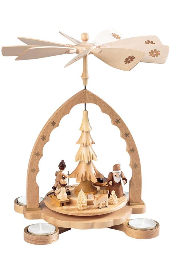 Richard Glaesser Pyramid - Santa with Children