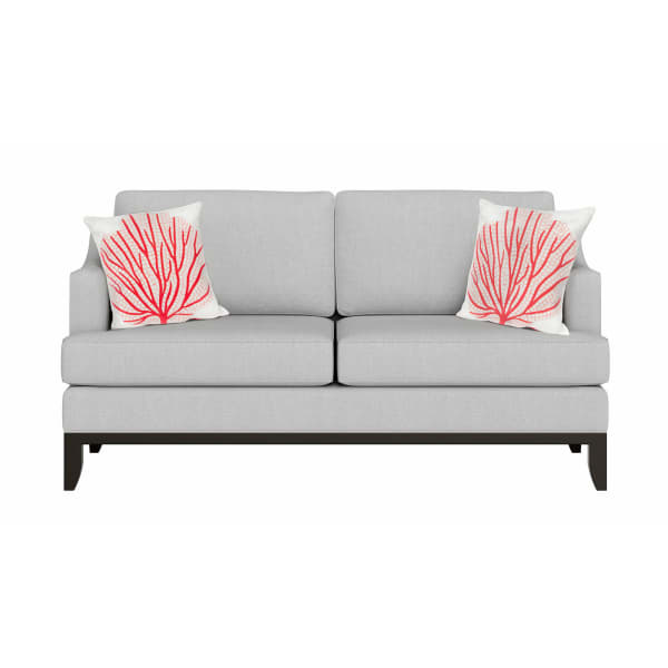 Coral Fan Coral Outdoor Pillow